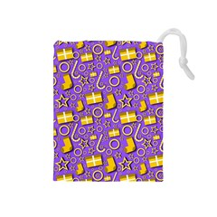 Paper Tissue Wrapping Drawstring Pouch (medium)