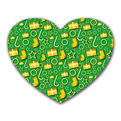Paper Tissue Wrapping Heart Mousepads