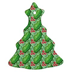 Default Texture Background Paper Ornament (christmas Tree)