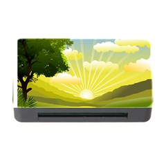 Wallpaper Background Landscape Memory Card Reader With Cf