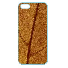 Leaf Fall Foliage Nature Orange Apple Seamless Iphone 5 Case (color) by Pakrebo