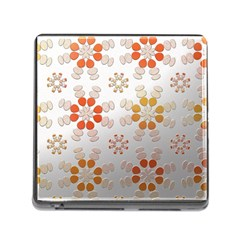 Wallpaper Pattern Abstract Memory Card Reader (square 5 Slot)