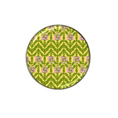 Texture Heather Nature Hat Clip Ball Marker