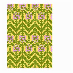 Texture Heather Nature Large Garden Flag (two Sides)