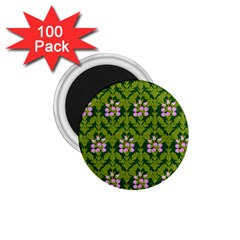 Pattern Nature Texture Heather 1 75  Magnets (100 Pack)
