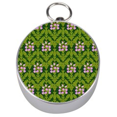 Pattern Nature Texture Heather Silver Compasses by Pakrebo