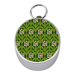 Pattern Nature Texture Heather Mini Silver Compasses