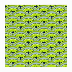 Texture Green Plant Leaves Arches Medium Glasses Cloth