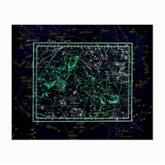 Constellation Constellation Map Small Glasses Cloth
