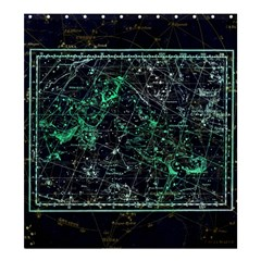 Constellation Constellation Map Shower Curtain 66  X 72  (large)
