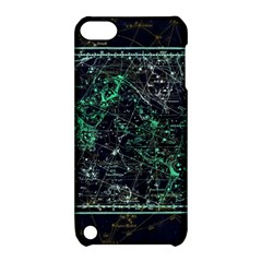 Constellation Constellation Map Apple Ipod Touch 5 Hardshell Case With Stand