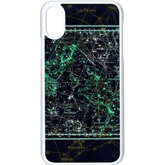 Constellation Constellation Map Apple Iphone X Seamless Case (white)