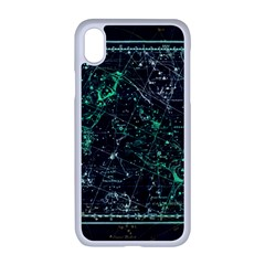 Constellation Constellation Map Apple Iphone Xr Seamless Case (white)