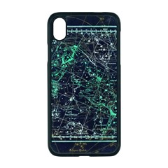 Constellation Constellation Map Apple Iphone Xr Seamless Case (black)