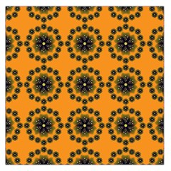 Desktop Abstract Template Flower Large Satin Scarf (square)