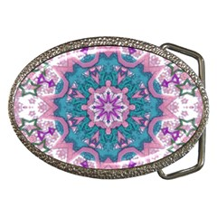 Mandala Pattern Abstract Belt Buckles