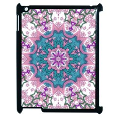 Mandala Pattern Abstract Apple Ipad 2 Case (black)