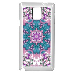 Mandala Pattern Abstract Samsung Galaxy Note 4 Case (white)