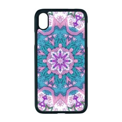 Mandala Pattern Abstract Apple Iphone Xr Seamless Case (black)
