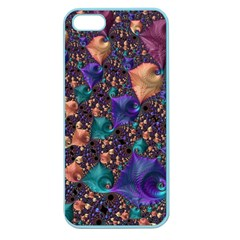 Pattern Art Ornament Fractal Apple Seamless Iphone 5 Case (color)