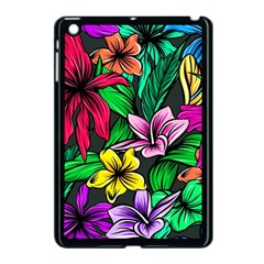 Hibiscus Flower Plant Tropical Apple Ipad Mini Case (black) by Pakrebo