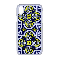 Tiles Panel Decorative Decoration Apple Iphone Xr Seamless Case (white)