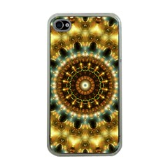 Pattern Abstract Background Art Apple Iphone 4 Case (clear)