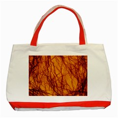Lightning Internal Blood Vessel Classic Tote Bag (red)