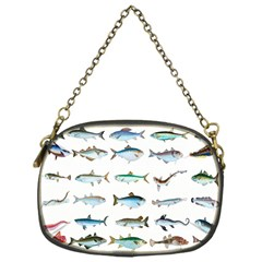 Ml 6 6 Fish Chain Purse (one Side) by ArtworkByPatrick