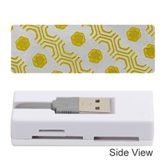 Abstract Background Hexagons Memory Card Reader (stick)