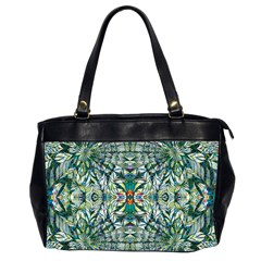 Pattern Design Pattern Geometry Oversize Office Handbag (2 Sides)