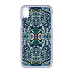 Pattern Design Pattern Geometry Apple Iphone Xr Seamless Case (white)
