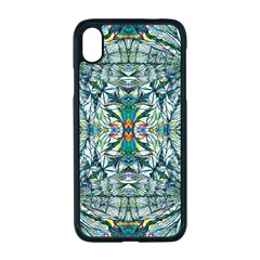 Pattern Design Pattern Geometry Apple Iphone Xr Seamless Case (black)