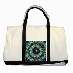 Pattern Abstract Background Art Two Tone Tote Bag