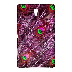 Red Peacock Feathers Color Plumage Samsung Galaxy Tab S (8 4 ) Hardshell Case