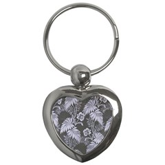Curtain Ornament Flowers Leaf Key Chains (heart)
