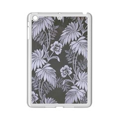 Curtain Ornament Flowers Leaf Ipad Mini 2 Enamel Coated Cases by Pakrebo