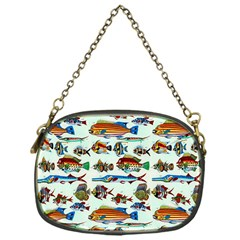 Ml 6 7 Fish Chain Purse (one Side) by ArtworkByPatrick