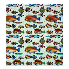 Ml 6 7 Fish Shower Curtain 66  X 72  (large)