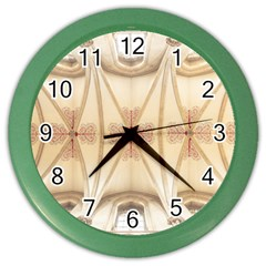 Wells Cathedral Wells Cathedral Color Wall Clock