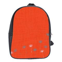 Dandelion Wishes   Red School Bag (xl)