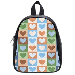 Hearts Aplenty School Bag (small) by WensdaiAddamns