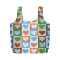 Hearts Aplenty Full Print Recycle Bag (m)