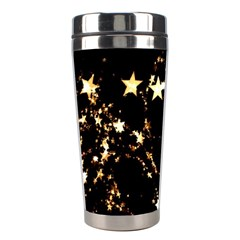 Shooting Stars Stainless Steel Travel Tumblers by WensdaiAddamns