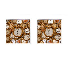 Time Clock Watches Cufflinks (square)