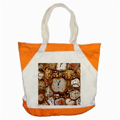 Time Clock Watches Accent Tote Bag