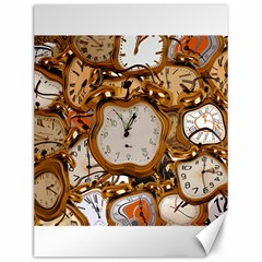 Time Clock Watches Canvas 12  X 16