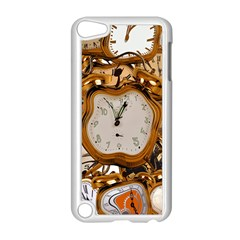Time Clock Watches Apple Ipod Touch 5 Case (white)