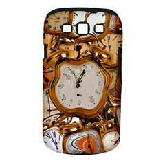 Time Clock Watches Samsung Galaxy S Iii Classic Hardshell Case (pc+silicone)