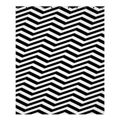 Zigzag Chevron Pattern Shower Curtain 60  X 72  (medium)